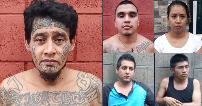 Capturan a peligrosos pandilleros que operaban en Altavista, Ilopango