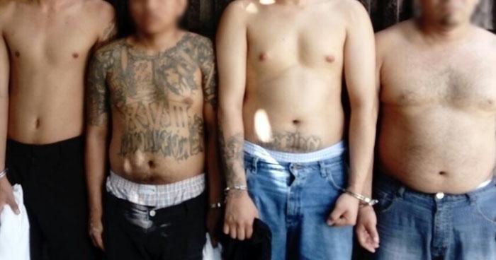 Capturan a pandilleros que asesinaron a 4 personas en Chalchuapa