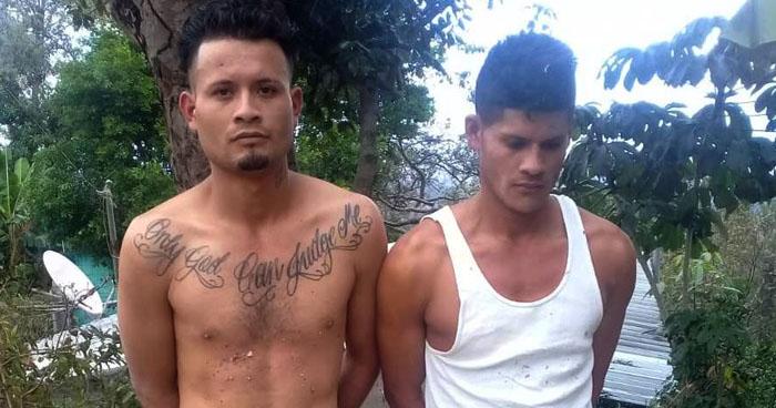 Incautan más de 100 porciones de droga a pandilleros que operan en San Vicente