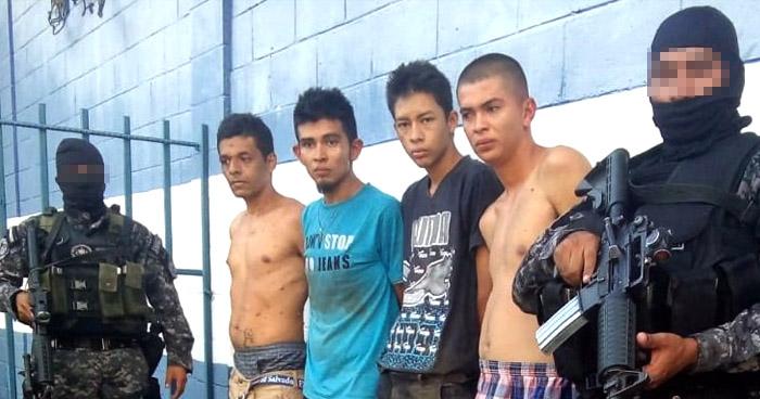 Capturan a pandilleros durante operativo tras ataque a policías en Tonacatepeque