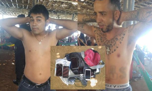 Capturan a dos pandilleros armados que vacacionaban en la playa El Espino