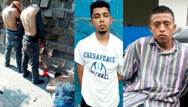 Capturan a varios sujetos, de diferentes pandillas, que delinquían en San Salvador