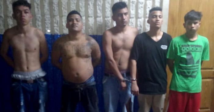 Arrestan a pandilleros armados en San Martín