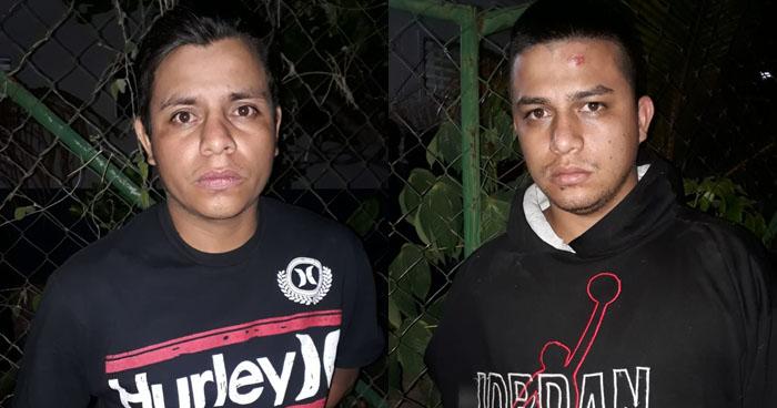 Dos pandilleros fueron capturados esta madrugada, en Soyapango y San Martin