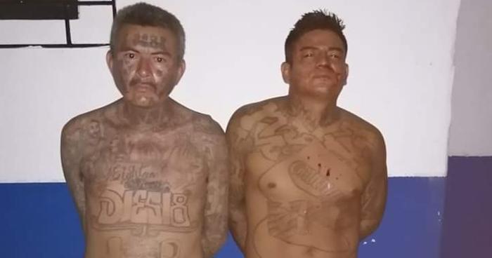 Pandilleros buscados por homicidio fueron capturados en Usulután