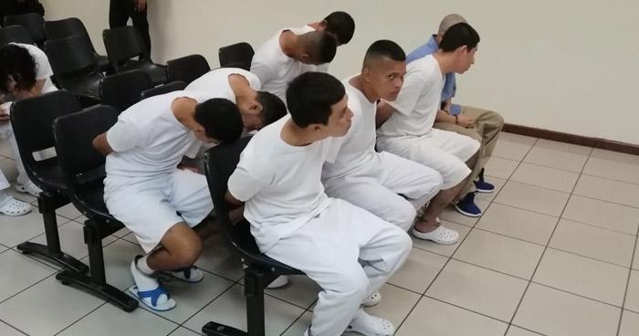 Condena de hasta 40 años en cárcel para pandilleros que operaban en La Libertad