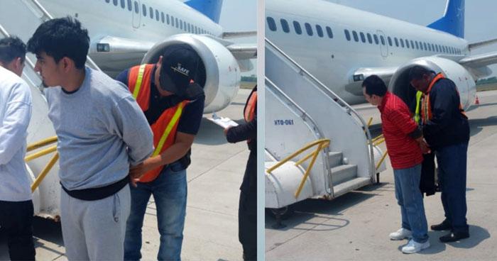 Deportan de Estados Unidos a cuatro pandilleros requeridos por la justicia salvadoreña