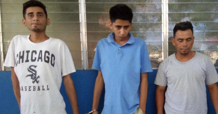 Incautan porciones de droga a pandilleros que operaban en Yoloaiquín, Morazán