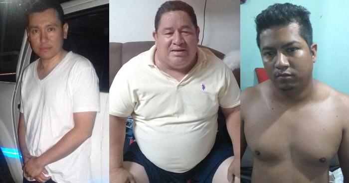 Tres pandilleros detenidos por asesinato de mujer embarazada en Ciudad Delgado