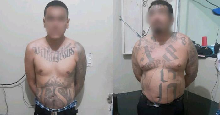 Pandilleros detenidos cuando ingresaban de forma ilegal a Guatemala