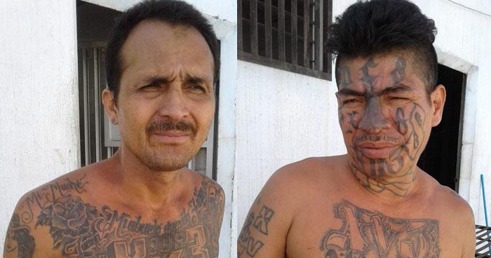 Capturan a pandilleros que asesinaron a una mujer en Santa Ana