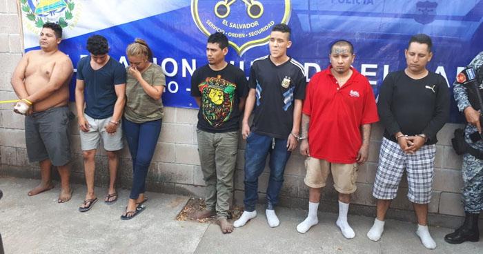 Capturan a 11 pandilleros y allanan viviendas y un motel en Mejicanos