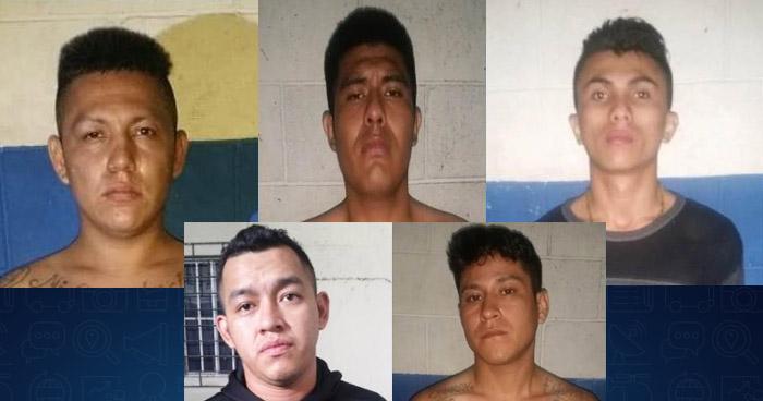 Cinco pandilleros y un menor detenidos por la STO en la colonia Miramonte