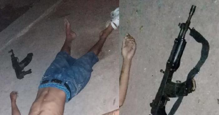4 pandilleros murieron tras enfrentarse a balazos con la PNC en Apopa