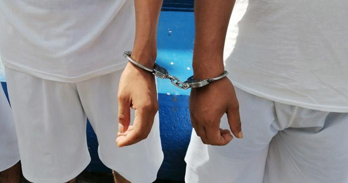 Capturan a 8 pandilleros que delinquían en Soyapango