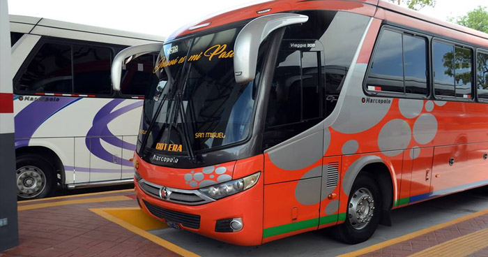 Rutas de autobuses del oriente del país amanecen en paro de labores por amenazas de Pandillas