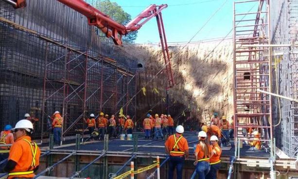 37% de avance en la construcción del paso a desnivel en Rancho Navarra