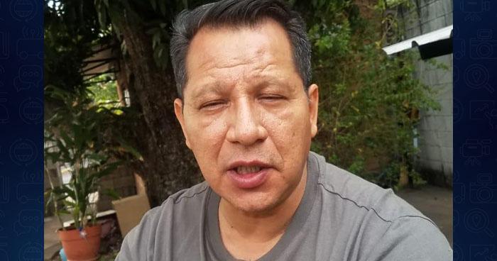 Fiscalía acusa al Pastor Carlos Rivas por el delito de conducción peligrosa