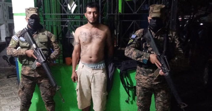 Capturan a pandillero buscado por Organizaciones Terroristas
