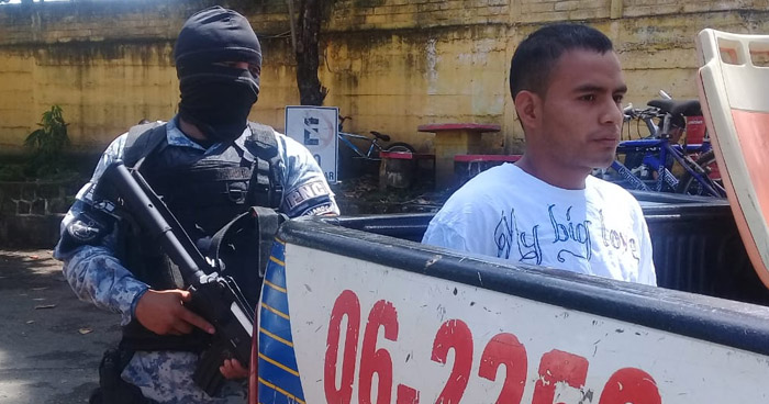Capturan a peligroso pandillero que atemorizaba a habitantes de Sonsonate