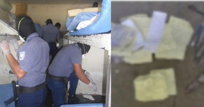 """Incautan """"wilas"""" tras requisas en centros penales"""