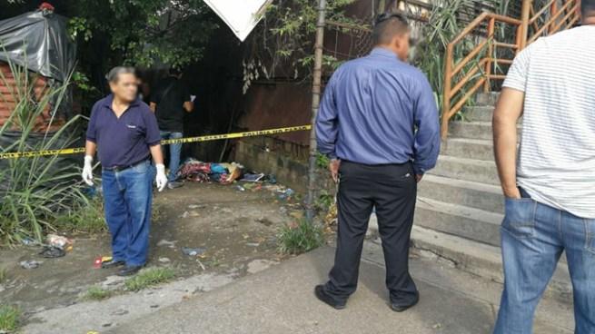 Encuentran cadáver de una persona en Ciudad Delgado, San Salvador