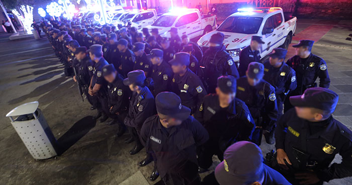 PNC suspende licencias a policías ante fuerte ola de violencia