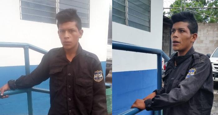 Capturan a pandillero vestido de policía en Mejicanos