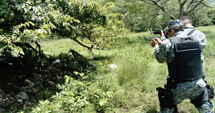 Tres pandilleros murieron tras enfrentarse a la PNC en casa destroyer de Sonsonate