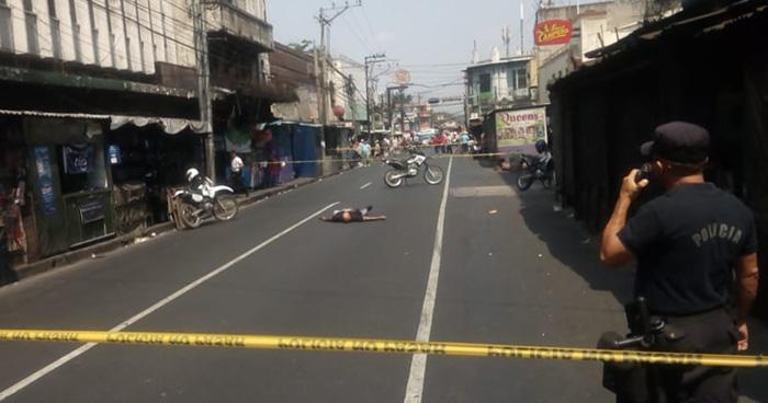 Asesinan a otro vigilante privado en el centro de San Salvador