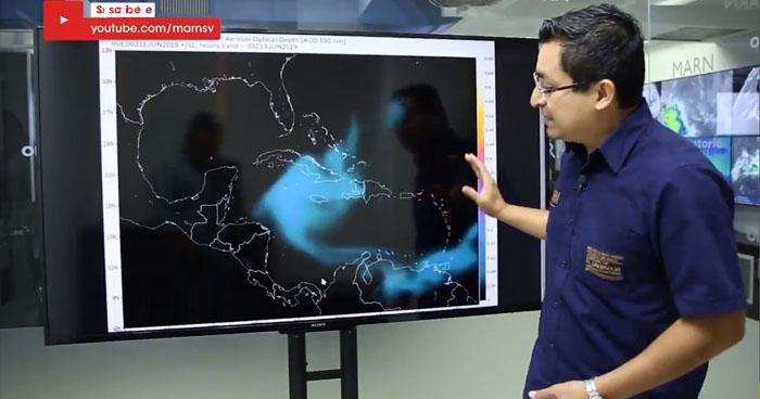 Polvo del Sahara ingresará a El Salvador la próxima semana