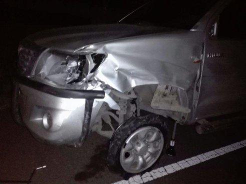 Sub Comisionado de la PNC es capturado en estado de ebriedad tras accidente de transito