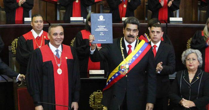 """OEA declara ilegítima """"la toma de posesión de la dictadura"""" de Nicolás Maduro"""