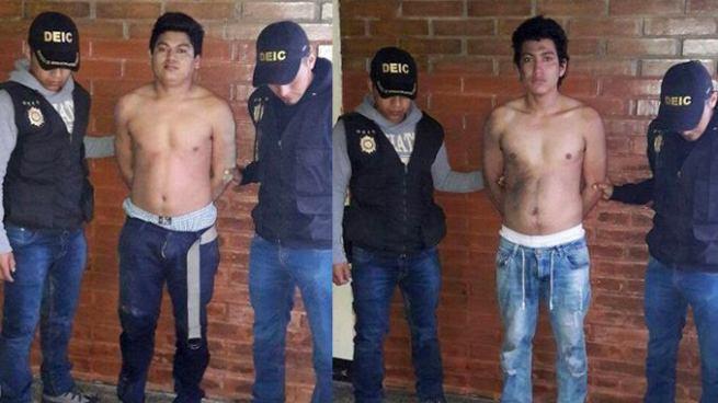 Capturan en Guatemala a dos presuntos pandilleros salvadoreños con un arma y municiones