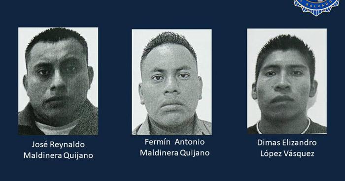 Detención provisional contra tres acusados de asesinar a maestra y sus padres
