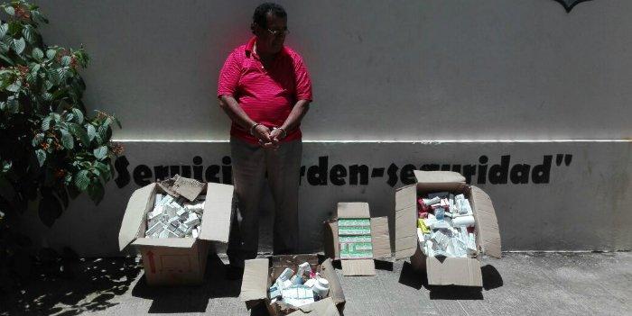 Capturado propietario del local donde se guardaba medicina vencida del ISSS
