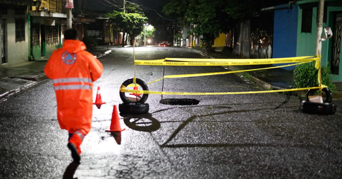 Un fallecido, 41 albergados y decenas de afectados por lluvias