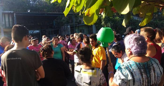Protestan por falta de agua potable en San Martín
