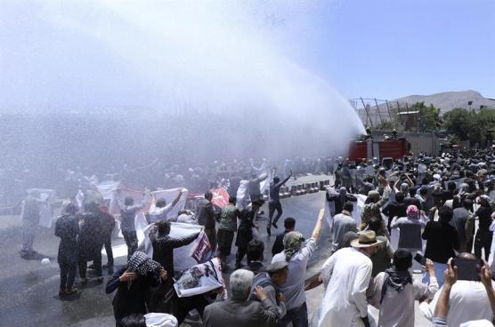 Protestas por atentado de Kabul dejan a cuatro fallecidos