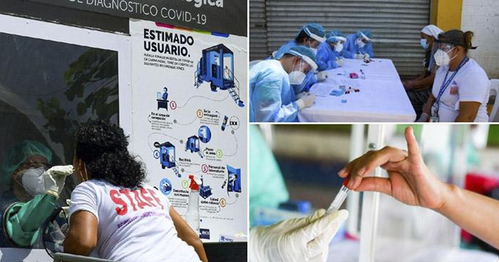 Realizan pruebas para detectar COVID-19 en El Congo, Santa Ana
