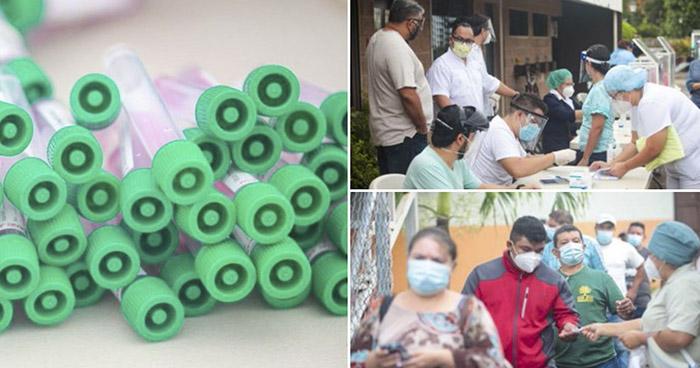 Instalan cabinas para realizar pruebas de COVID-19 en San José Villanueva, La Libertad