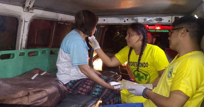 Mujer quemada tras incendio en vivienda de colonia de San Salvador