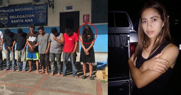 Pareja de cabecilla de pandilla es enviada a prisión preventiva por quíntuple homicidio