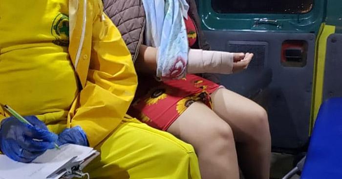 Joven sufre quemaduras de segundo grado tras impacto de un rayo en Ilopango