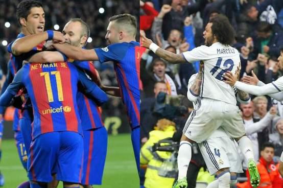 Real Madrid por la hazaña y el Barcelona por el milagro