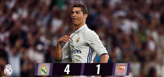 Real Madrid se despide con una victoria del Bernabéu y acaricia La Liga