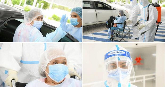 18 pacientes recibieron este jueves el alta tras recuperarse de COVID-19