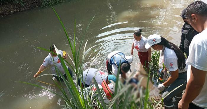 Recuperan cadáver de un joven en río El Salto, en Aguilares