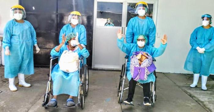 Cuatro pacientes más se recuperan de COVID-19 en Ahuachapán