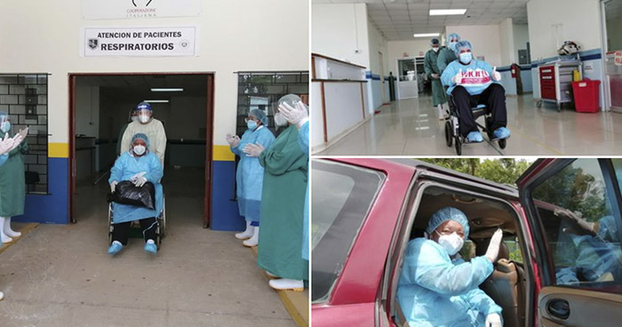 Un médico y 23 personas más se recuperan de COVID-19